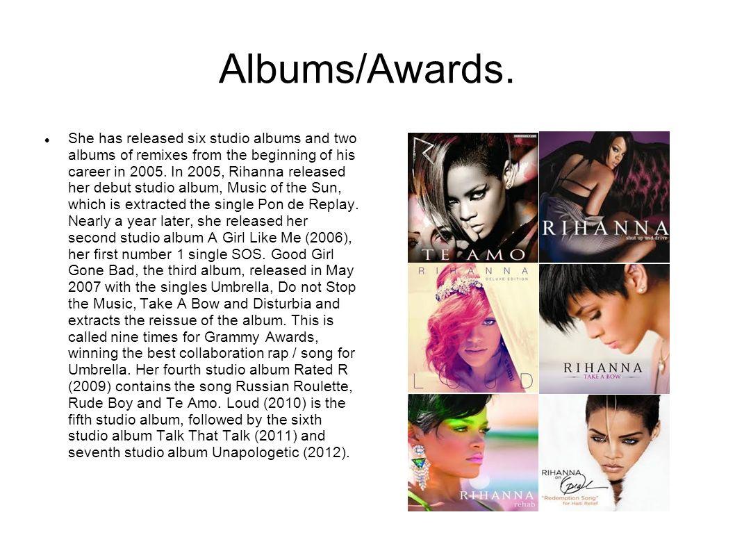 Albums/Awards.