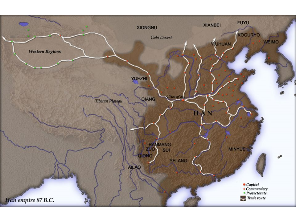 Background Knowledge The Han Dynasty lasted over 400 years from 206 B.C.