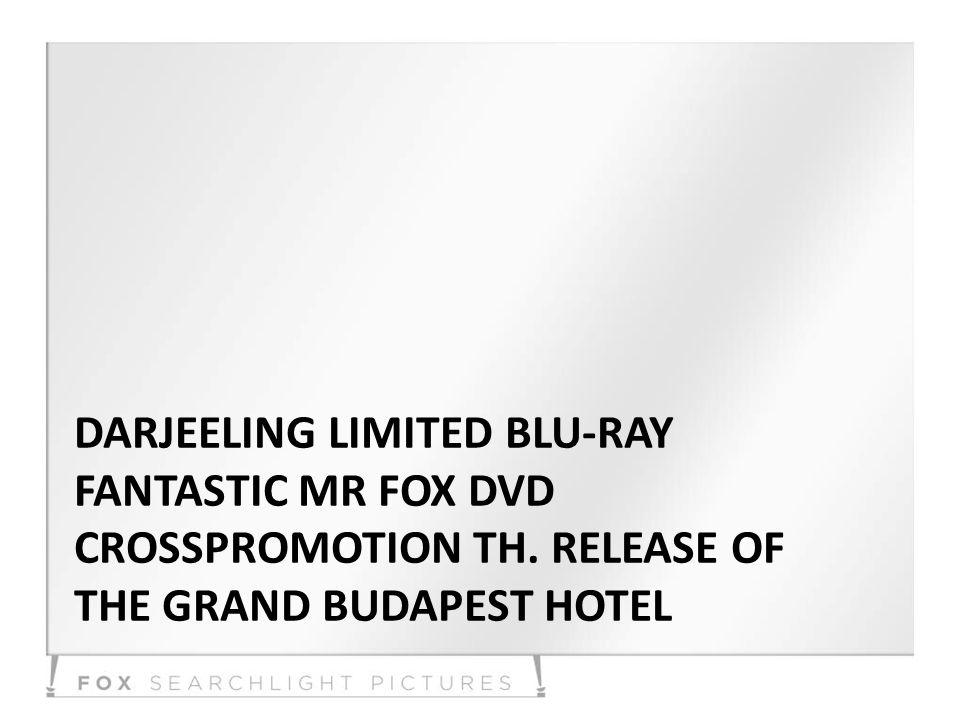 DARJEELING LIMITED BLU-RAY FANTASTIC MR FOX DVD CROSSPROMOTION TH.