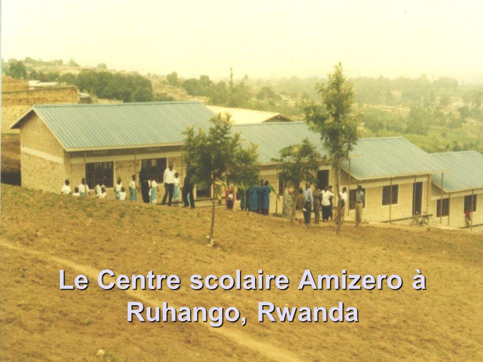 Le Centre scolaire Amizero à Ruhango, Rwanda