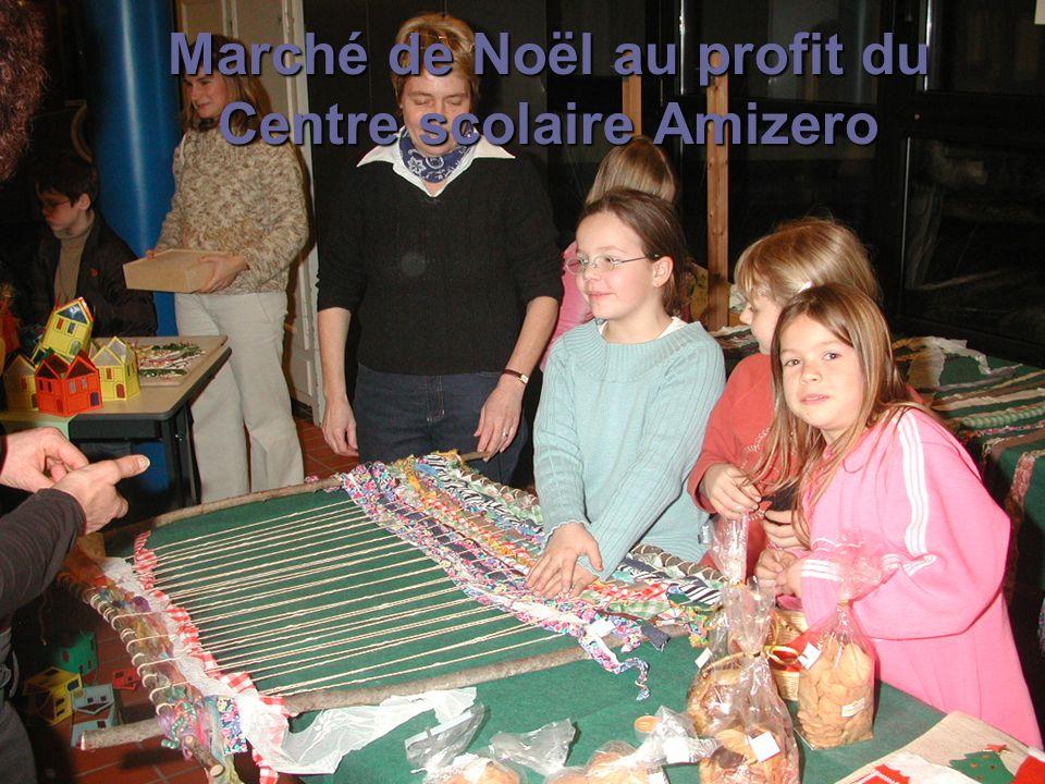 Marché de Noël au profit du Centre scolaire Amizero