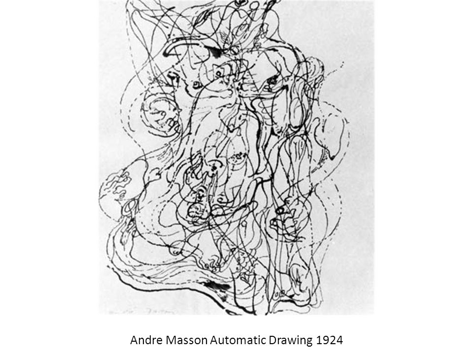 Andre Masson Automatic Drawing 1924