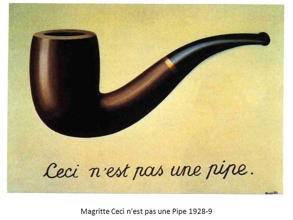 Magritte Ceci n est pas une Pipe 1928-9
