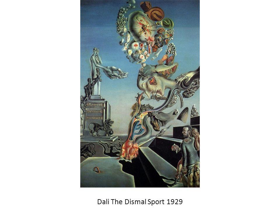Dali The Dismal Sport 1929