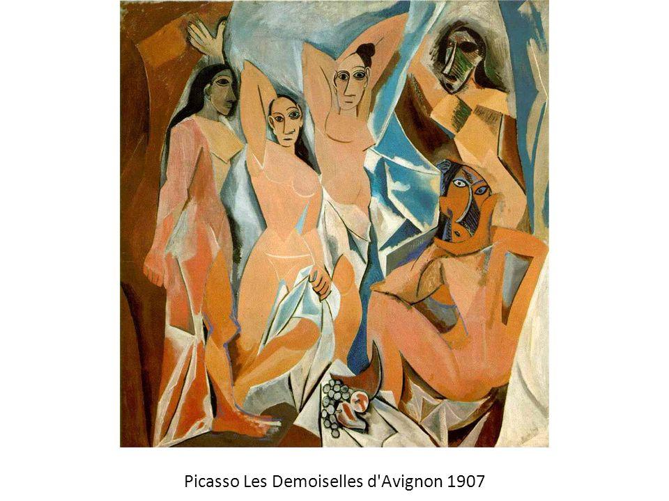 Picasso Les Demoiselles d Avignon 1907