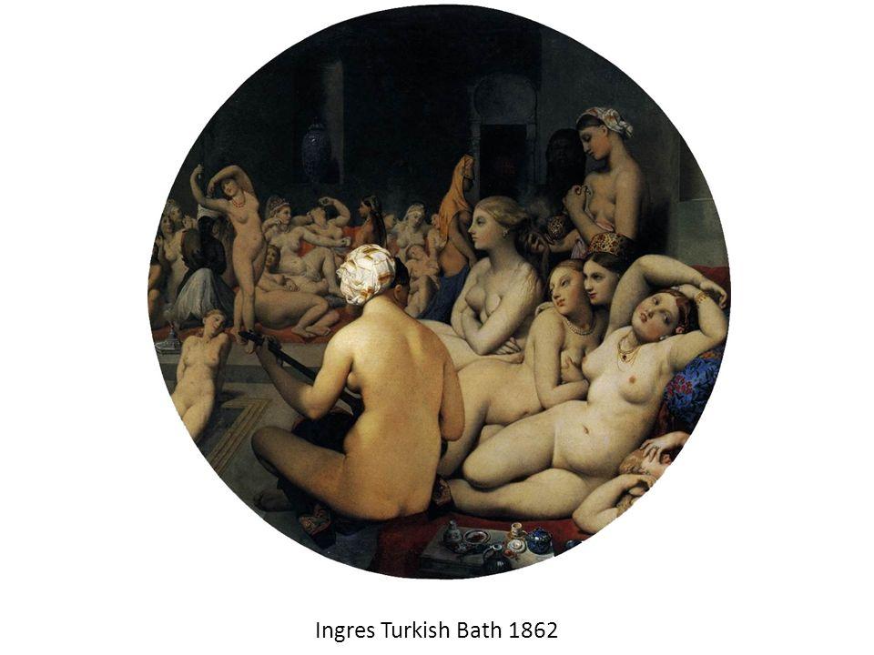Ingres Turkish Bath 1862