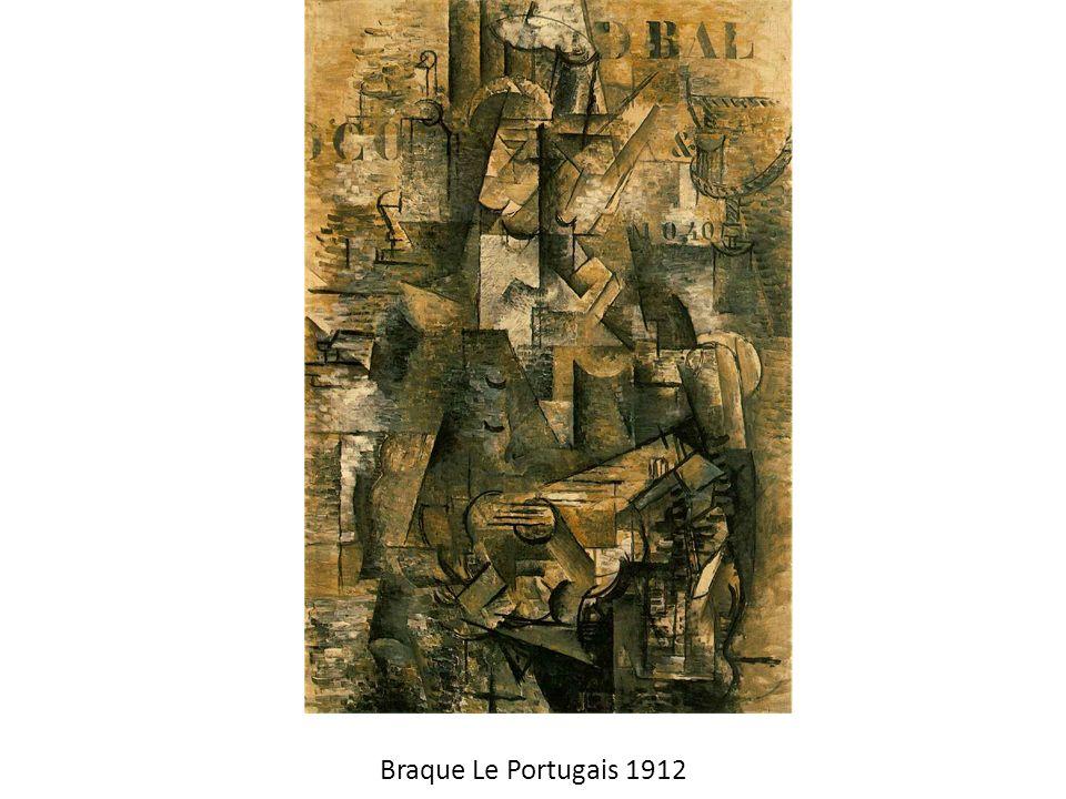 Braque Le Portugais 1912