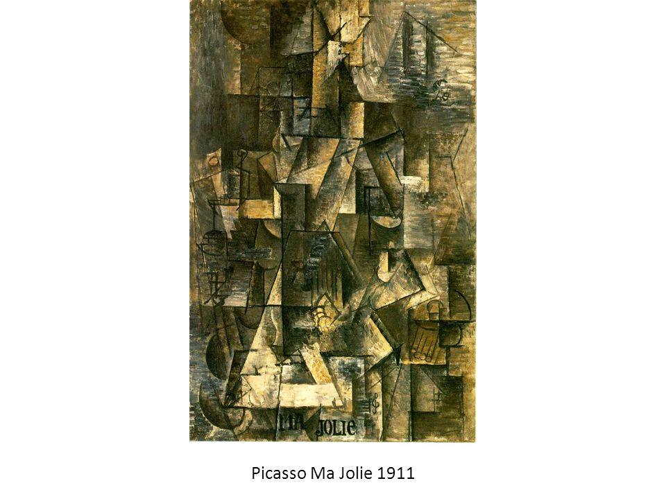 Picasso Ma Jolie 1911