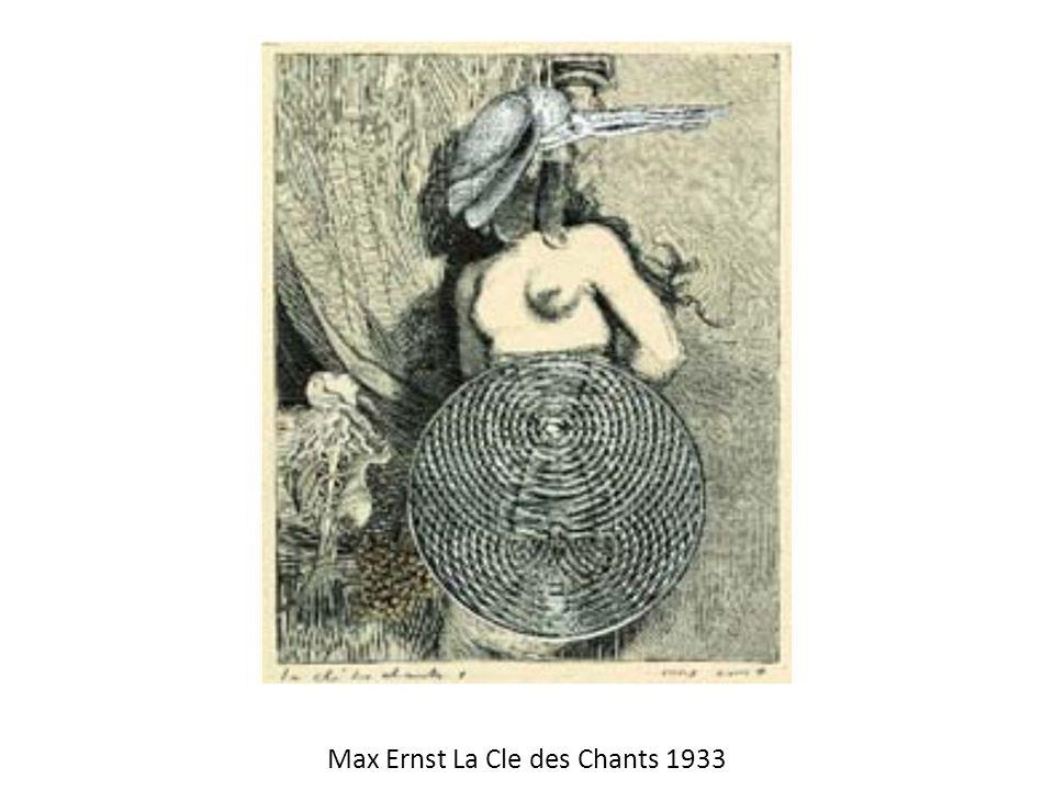 Max Ernst La Cle des Chants 1933