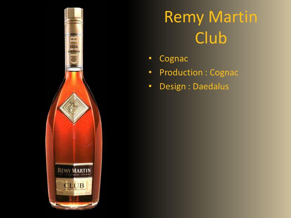 Remy Martin Club Cognac Production : Cognac Design : Daedalus