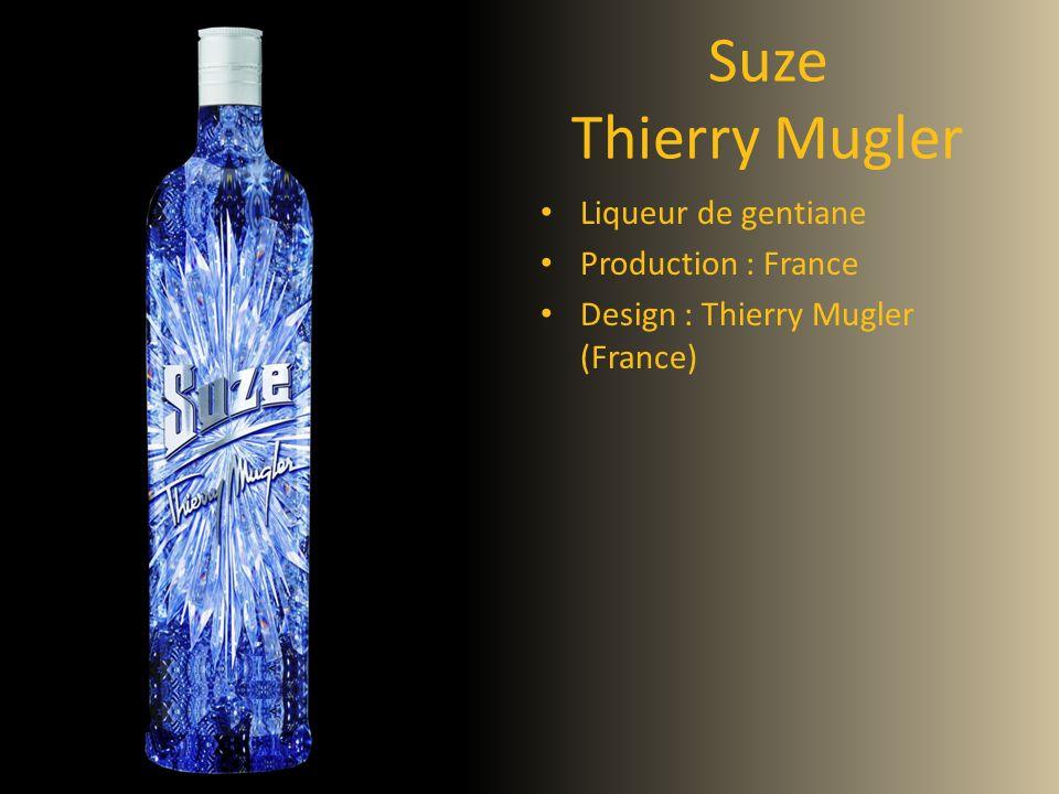 Suze Thierry Mugler Liqueur de gentiane Production : France Design : Thierry Mugler (France)