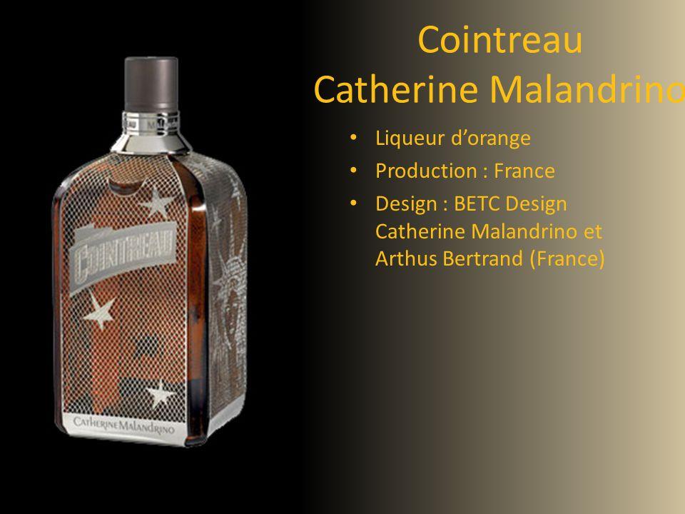 Cointreau Catherine Malandrino Liqueur dorange Production : France Design : BETC Design Catherine Malandrino et Arthus Bertrand (France)
