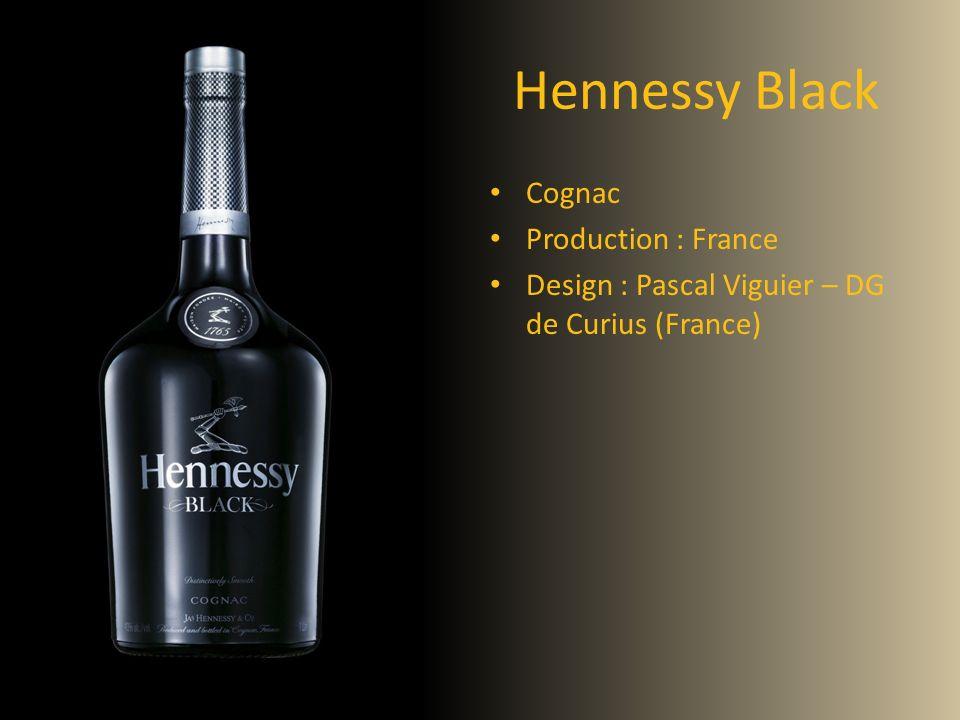 Hennessy Black Cognac Production : France Design : Pascal Viguier – DG de Curius (France)