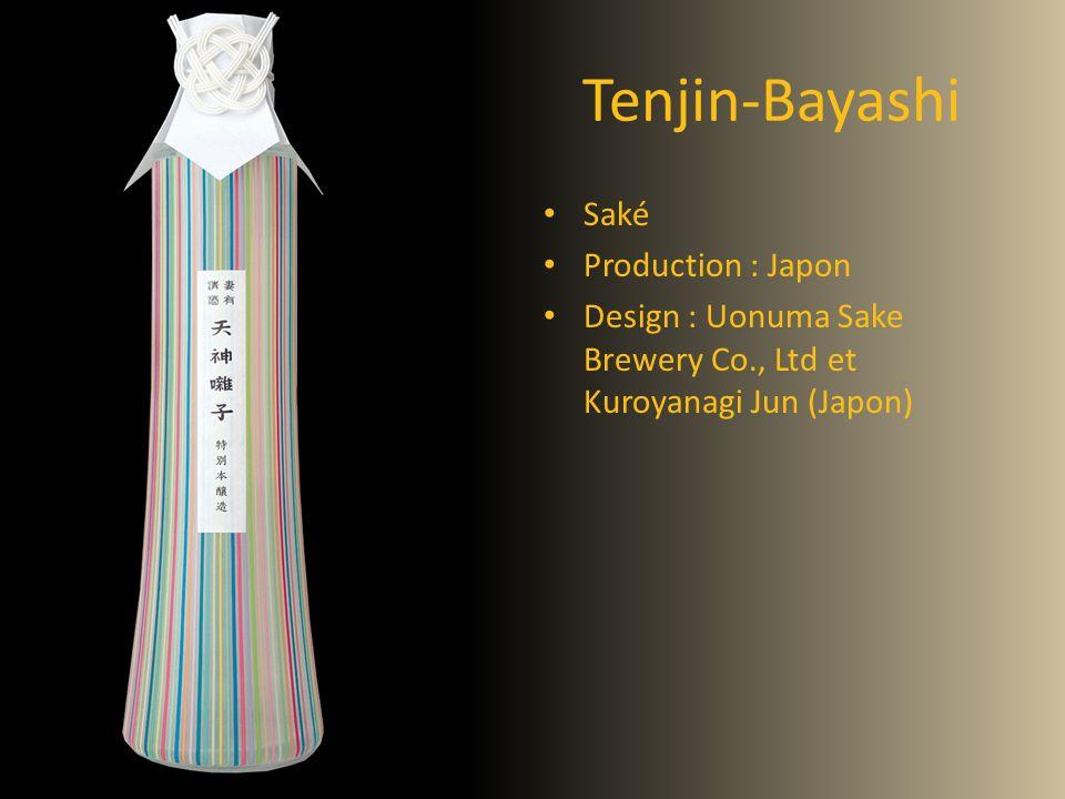 Tenjin-Bayashi Saké Production : Japon Design : Uonuma Sake Brewery Co., Ltd et Kuroyanagi Jun (Japon)