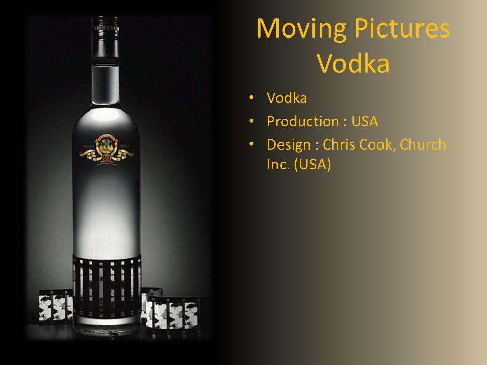 Moving Pictures Vodka Vodka Production : USA Design : Chris Cook, Church Inc. (USA)