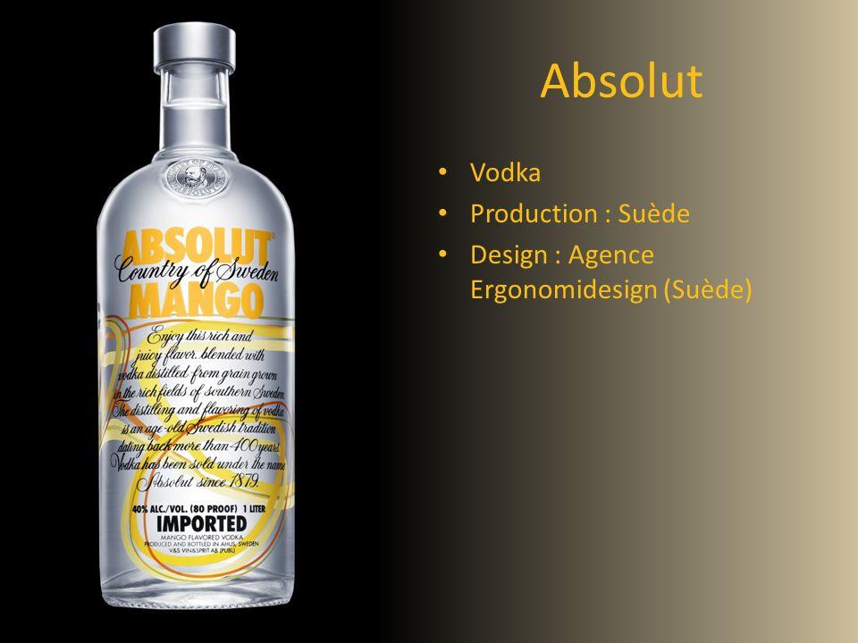 Absolut Vodka Production : Suède Design : Agence Ergonomidesign (Suède)