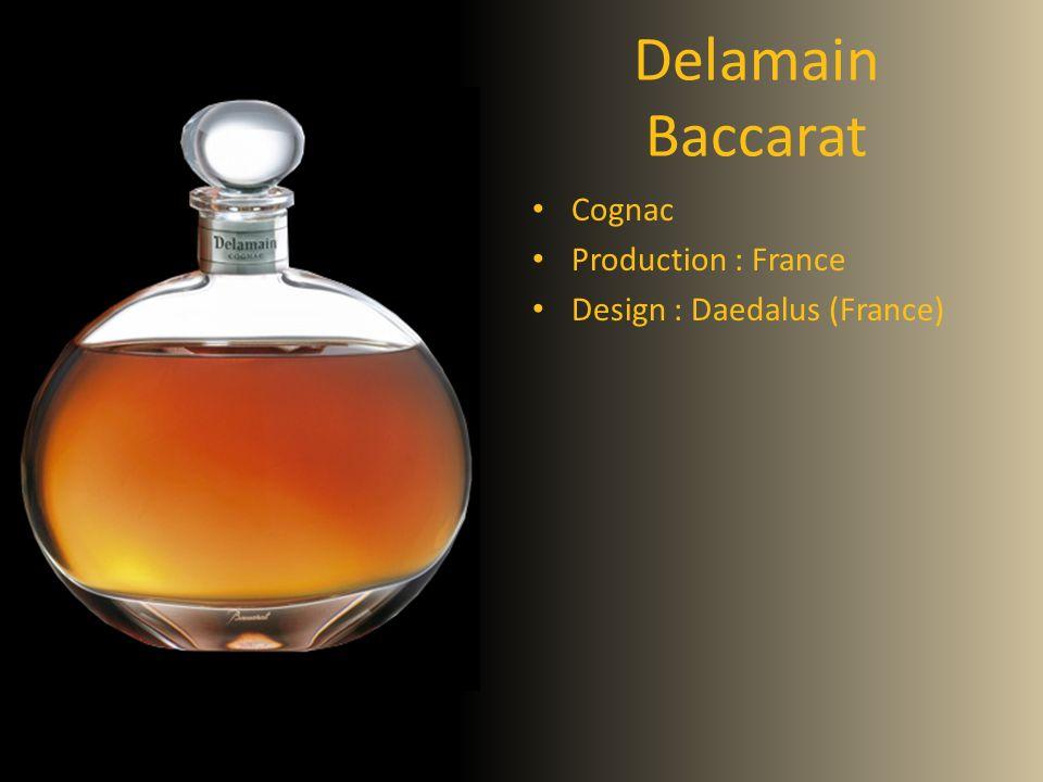 Delamain Baccarat Cognac Production : France Design : Daedalus (France)
