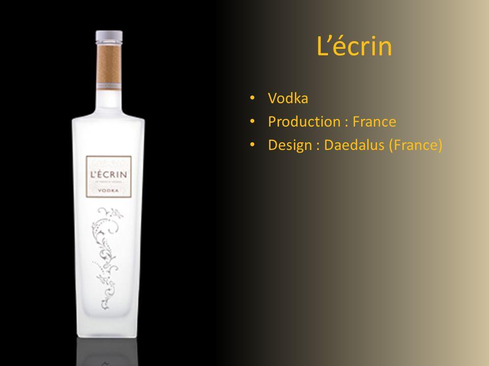 Lécrin Vodka Production : France Design : Daedalus (France)