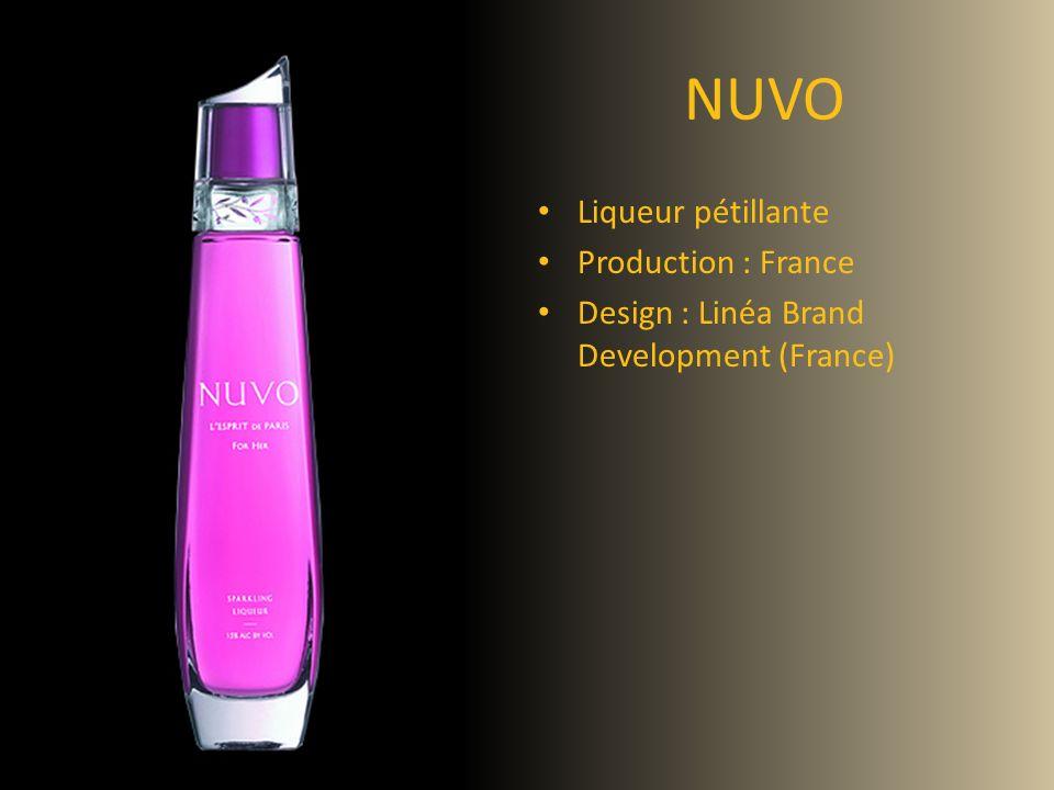 NUVO Liqueur pétillante Production : France Design : Linéa Brand Development (France)
