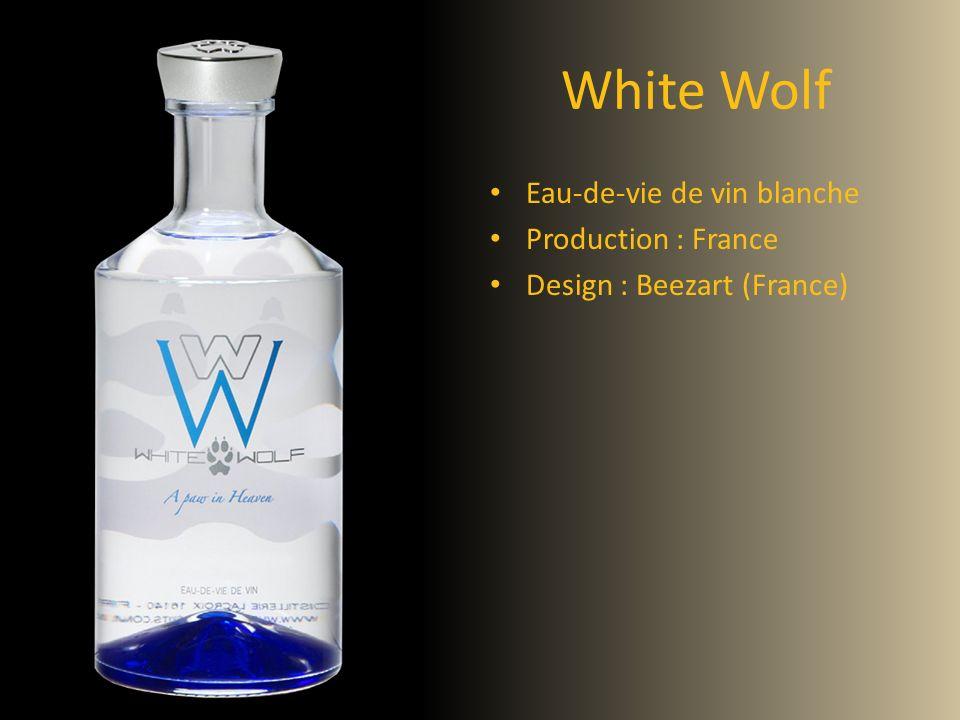 White Wolf Eau-de-vie de vin blanche Production : France Design : Beezart (France)
