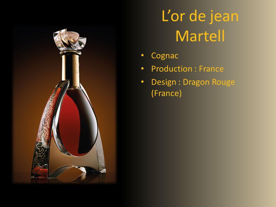 Lor de jean Martell Cognac Production : France Design : Dragon Rouge (France)