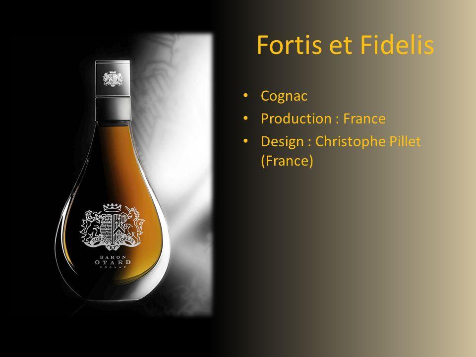 Fortis et Fidelis Cognac Production : France Design : Christophe Pillet (France)