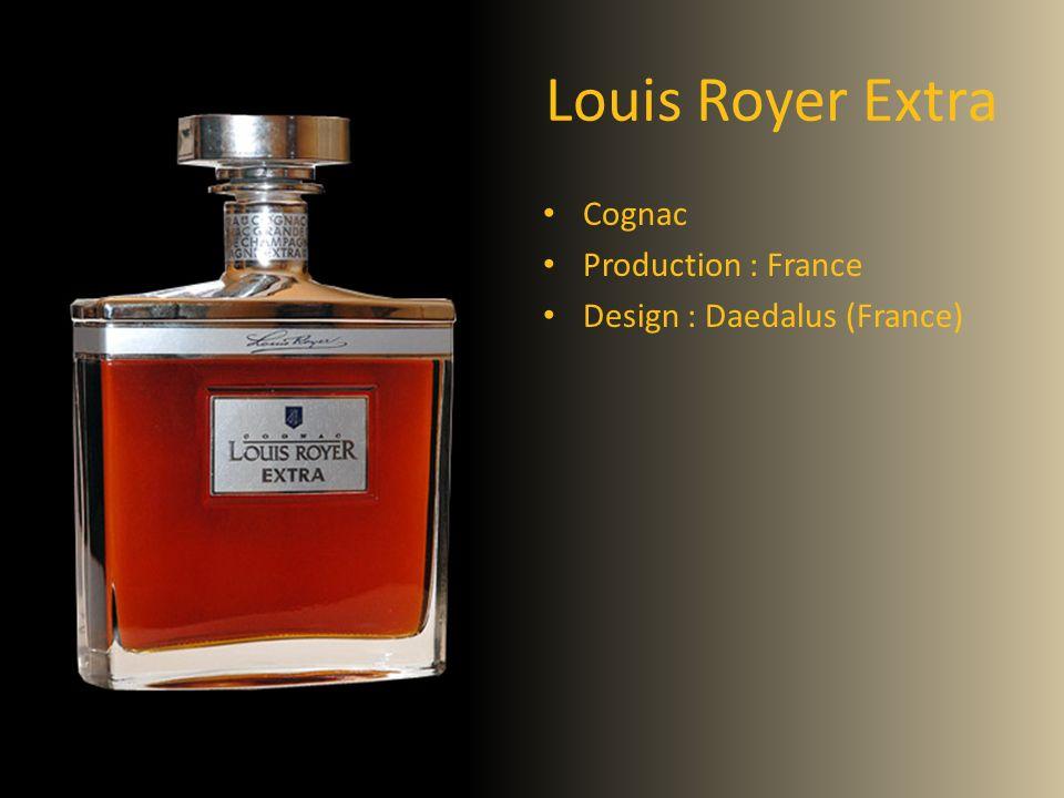Louis Royer Extra Cognac Production : France Design : Daedalus (France)