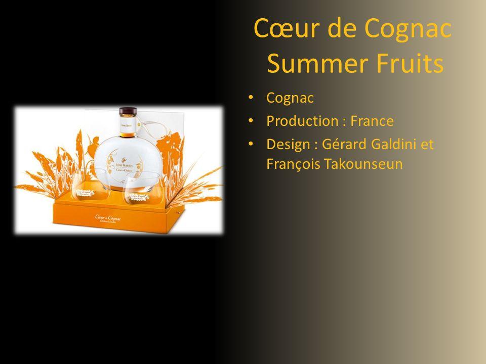 Cœur de Cognac Summer Fruits Cognac Production : France Design : Gérard Galdini et François Takounseun
