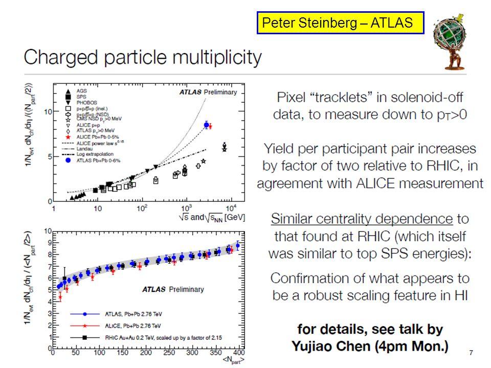 Federico Antinori - QM2011 - Annecy 7 Peter Steinberg – ATLAS