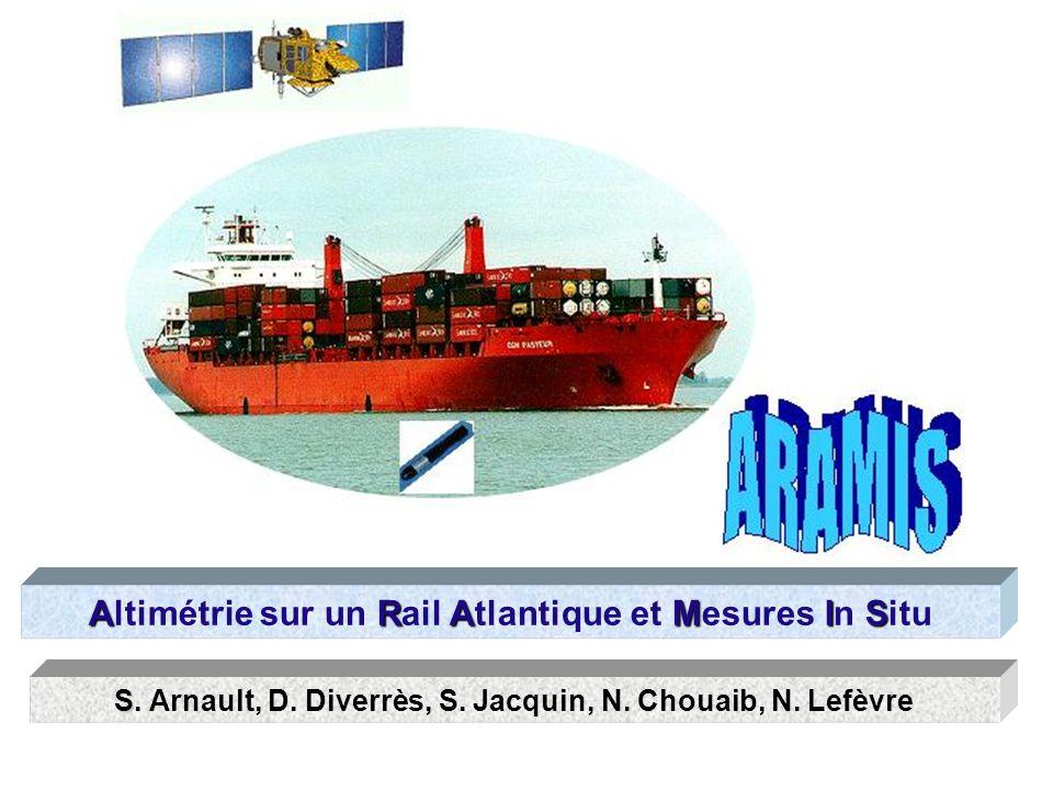 ARAMIS Altimétrie sur un Rail Atlantique et Mesures In Situ S S.
