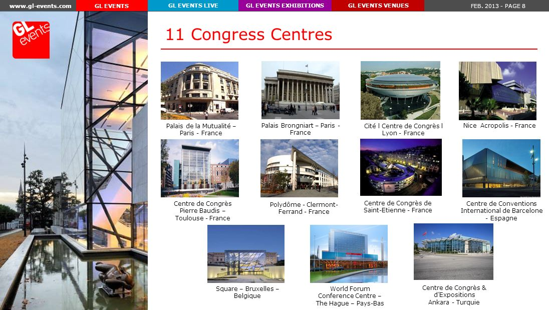www.gl-events.com FEB.