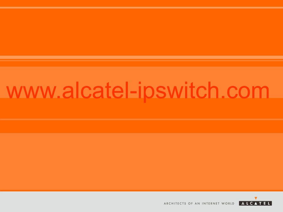 Alle Rechte vorbehalten © 2005, Alcatel Übersicht – Lösungen www.alcatel-ipswitch.com
