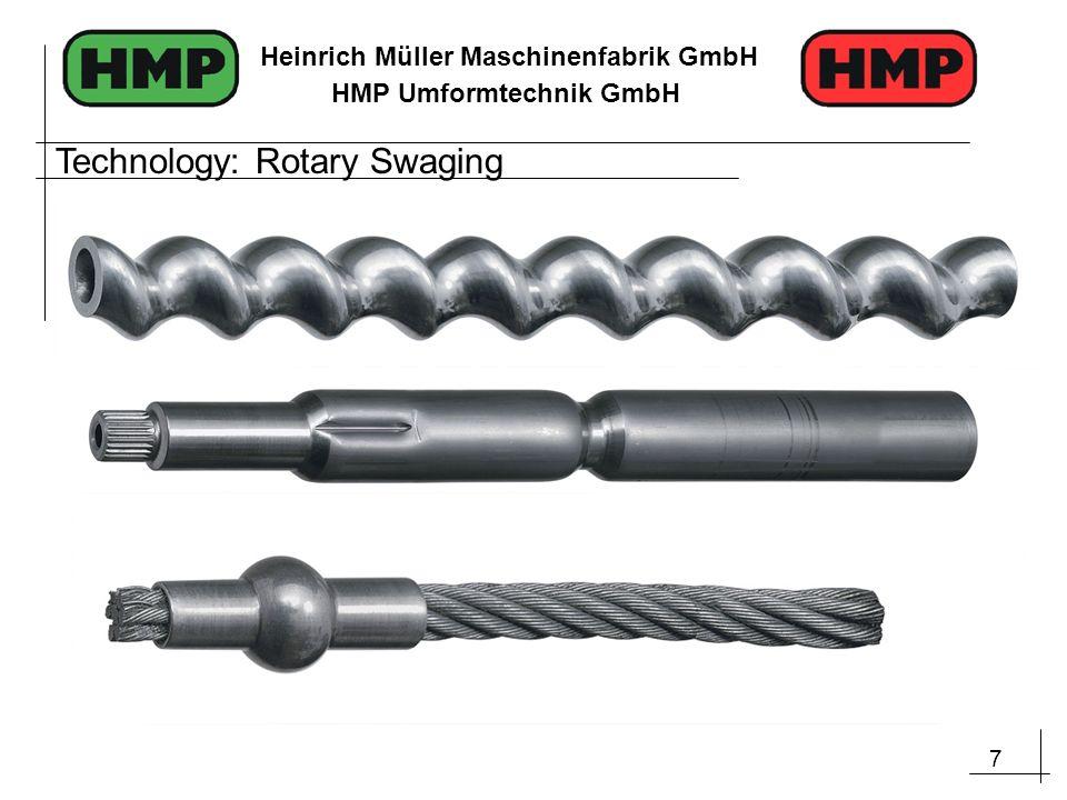 18 Heinrich Müller Maschinenfabrik GmbH HMP Umformtechnik GmbH Application Samples Automotive Industry: steering components