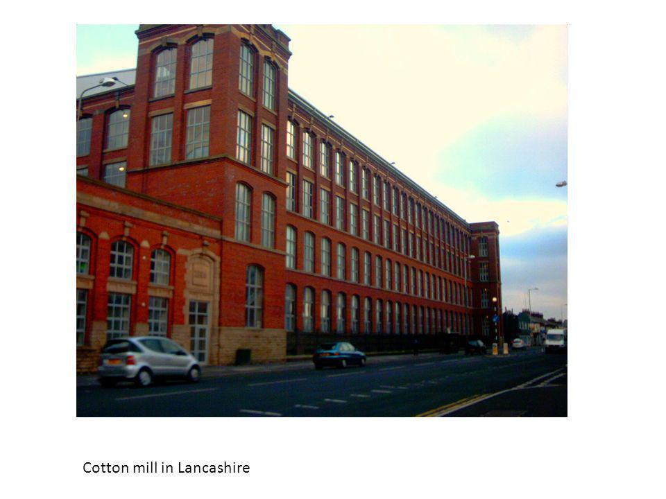 Cotton mill in Lancashire