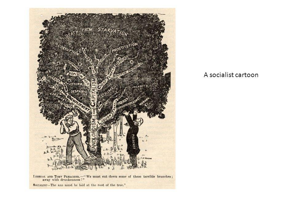 A socialist cartoon