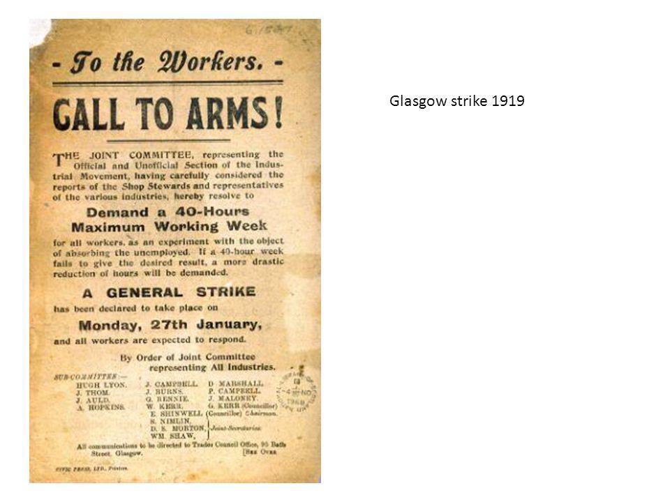 Glasgow strike 1919