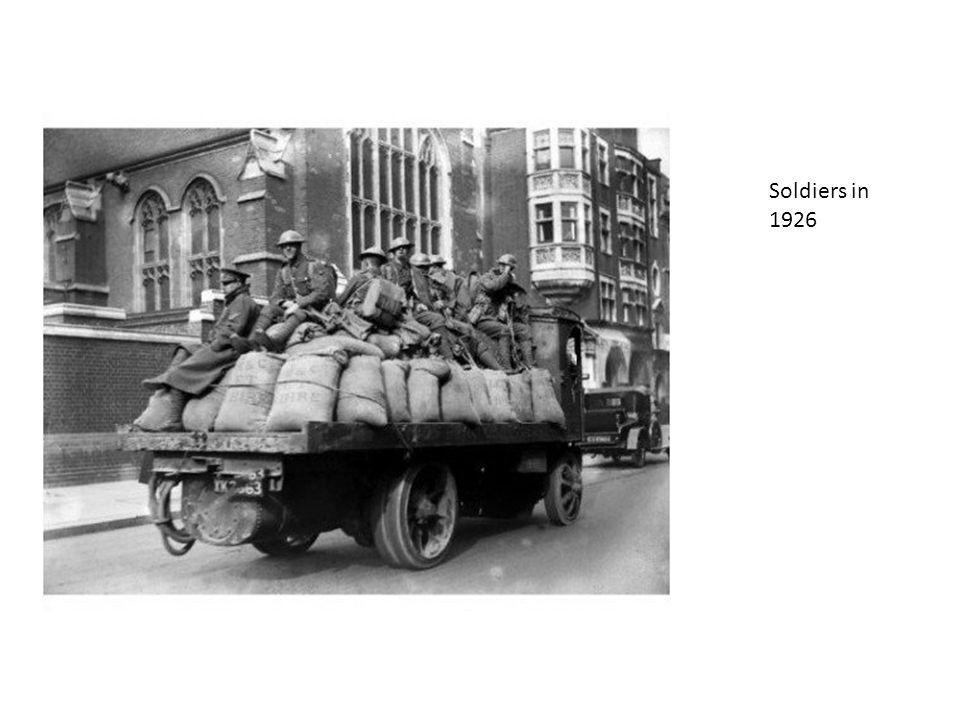 Soldiers in 1926