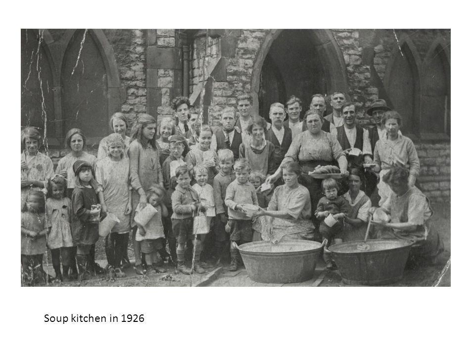 Soup kitchen in 1926