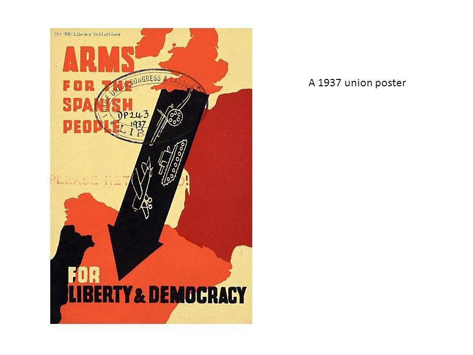 A 1937 union poster