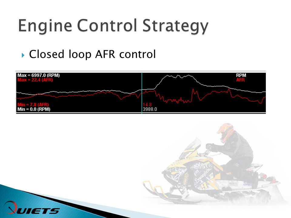 Closed loop AFR control
