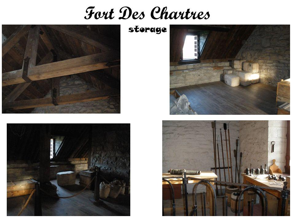 Fort Des Chartres storage