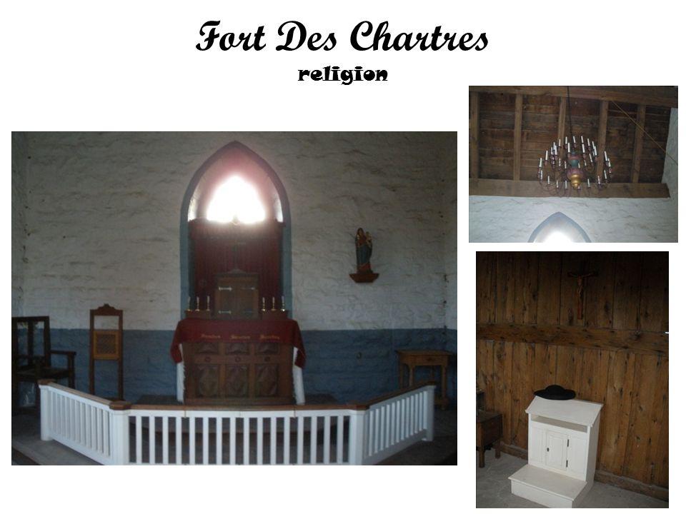 Fort Des Chartres religion