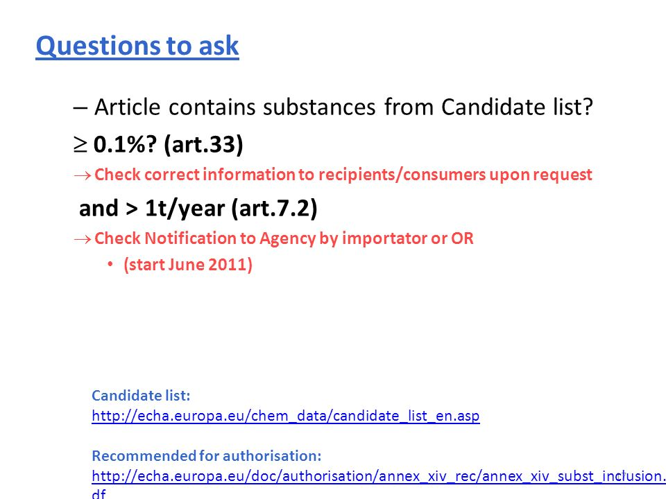 17 – Article contains substances from Candidate list.