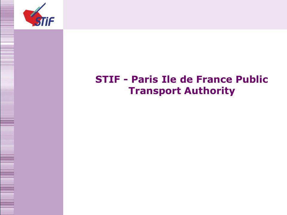 STIF - Paris Ile de France Public Transport Authority