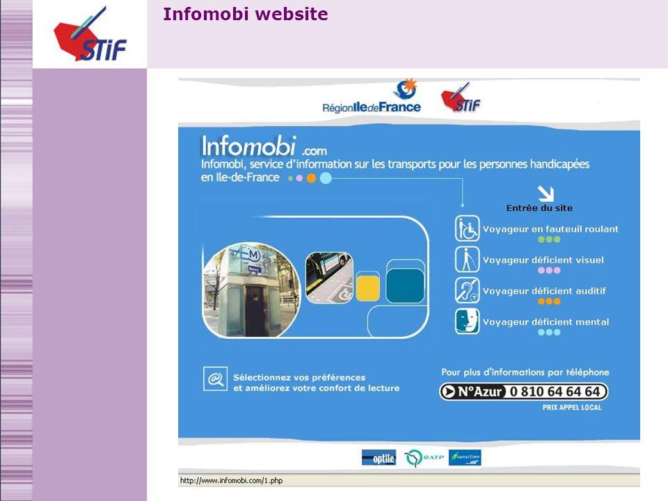 Infomobi website