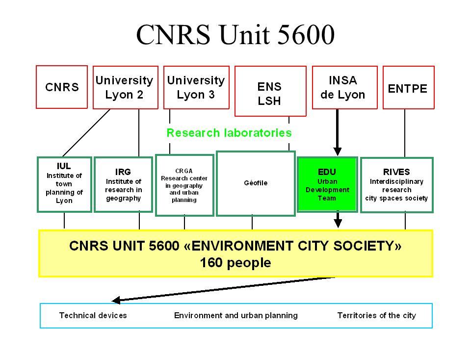 CNRS Unit 5600