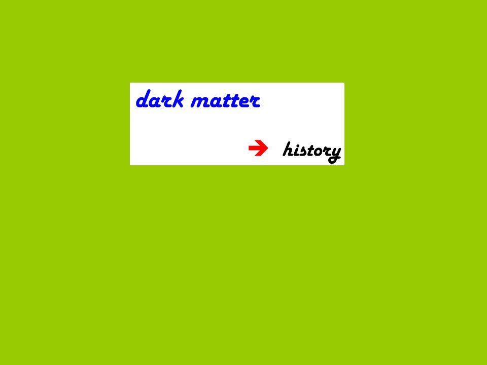 dark matter history