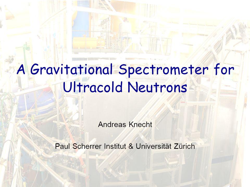 Andreas Knecht1ZH Doktorandenseminar 2009, 4. – 5.