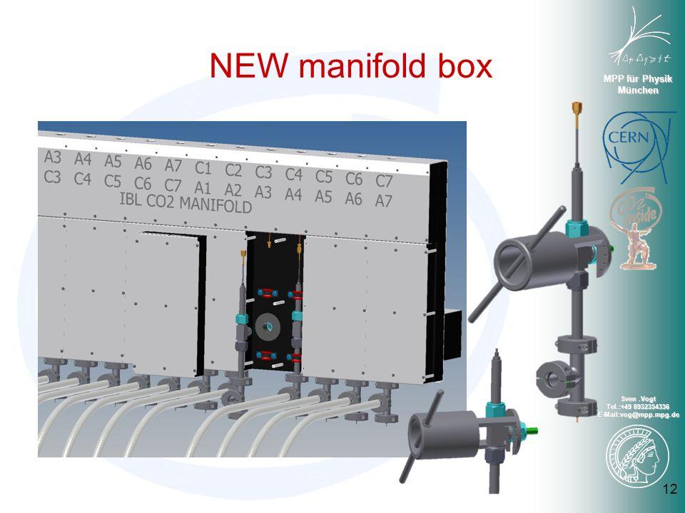 MPP für Physik München Sven.Vogt Tel.:+49 8932354336 E-Mail:vog@mpp.mpg.de NEW manifold box 12