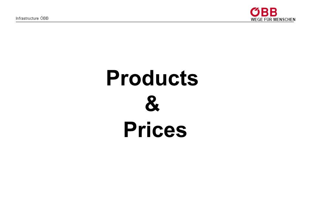 Infrastructure ÖBB WEGE FÜR MENSCHEN Products & Prices